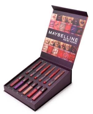 Maybelline - עיצוב מארזים בהתאמה אישית